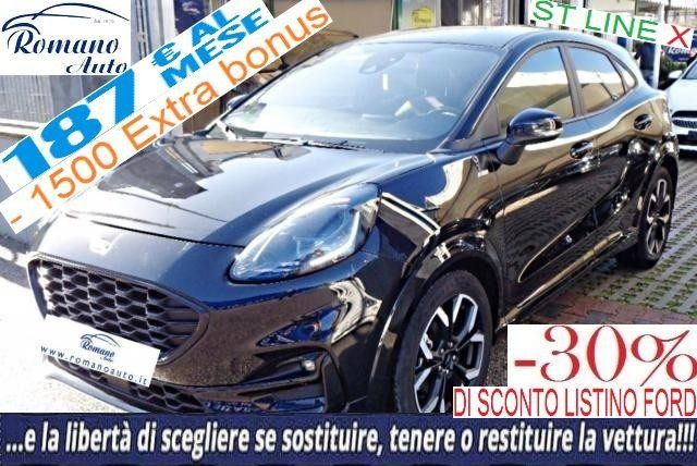 FORD Puma 1.0 EcoBoost 125CV S&S ST-Line X